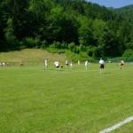 Le terrain de foot remis à neuf