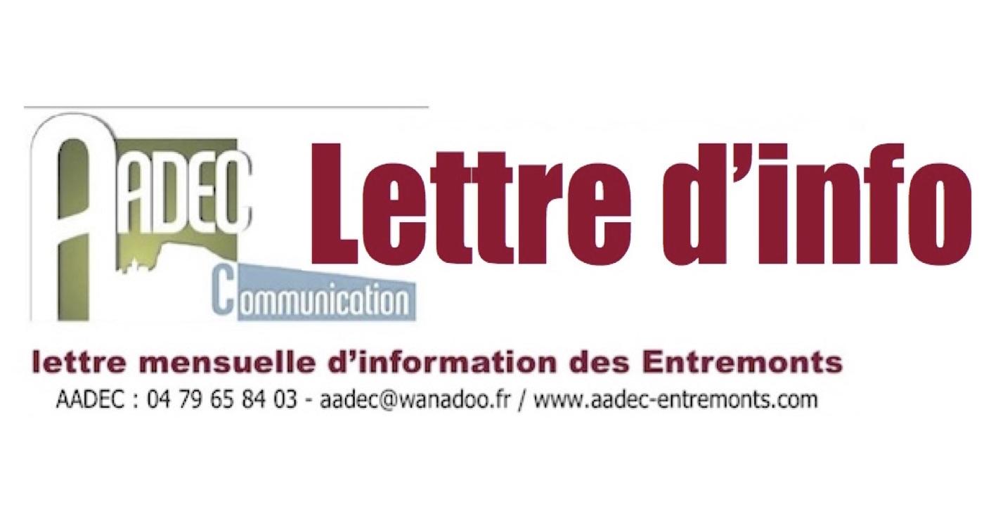 lettre info aadec-a-la-une