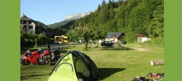 camping à la une